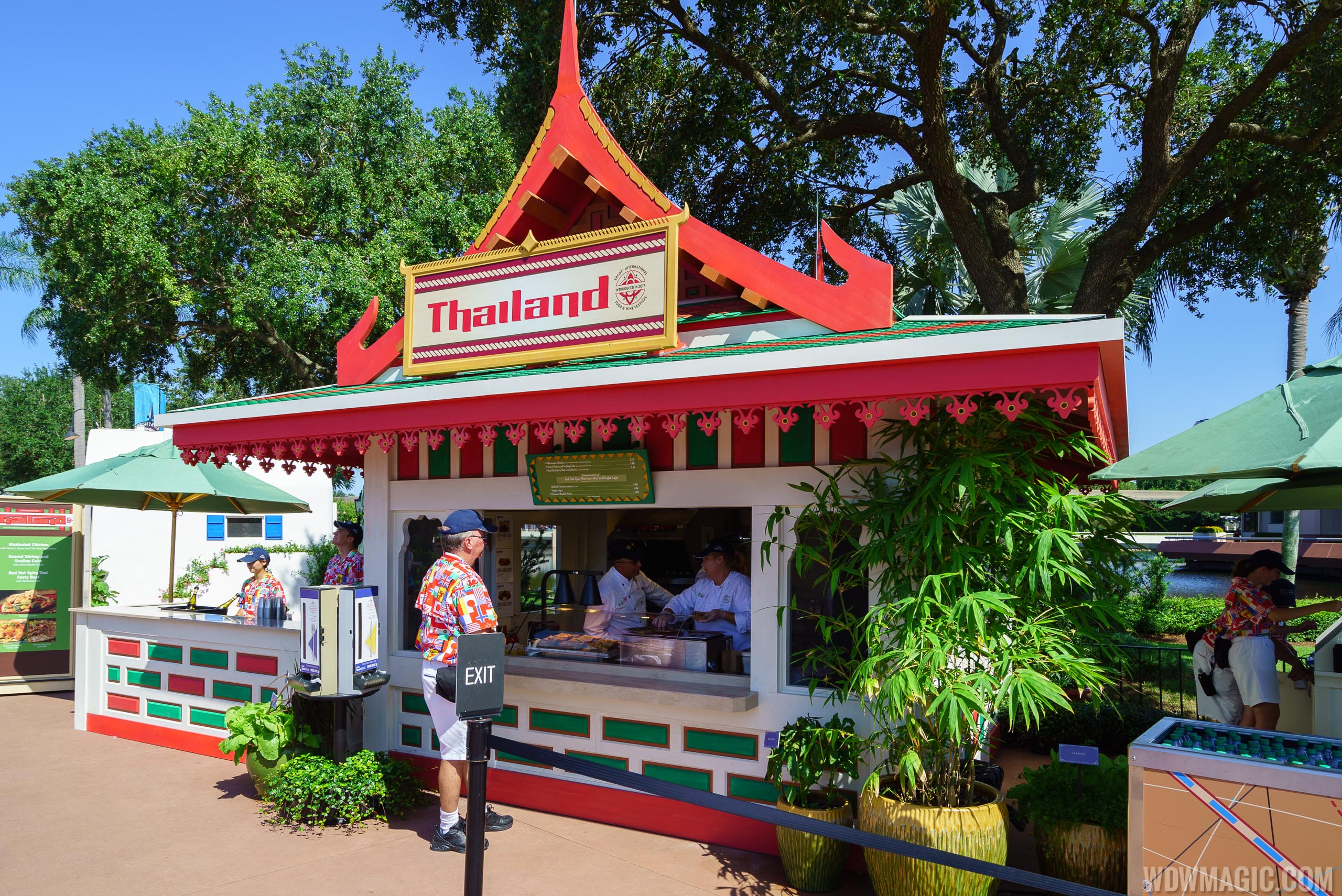 2017 Epcot Food and Wine Festival Marketplace kiosks, menus and pricing