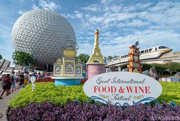 2018 Epcot International Food and Wine Festival opening day