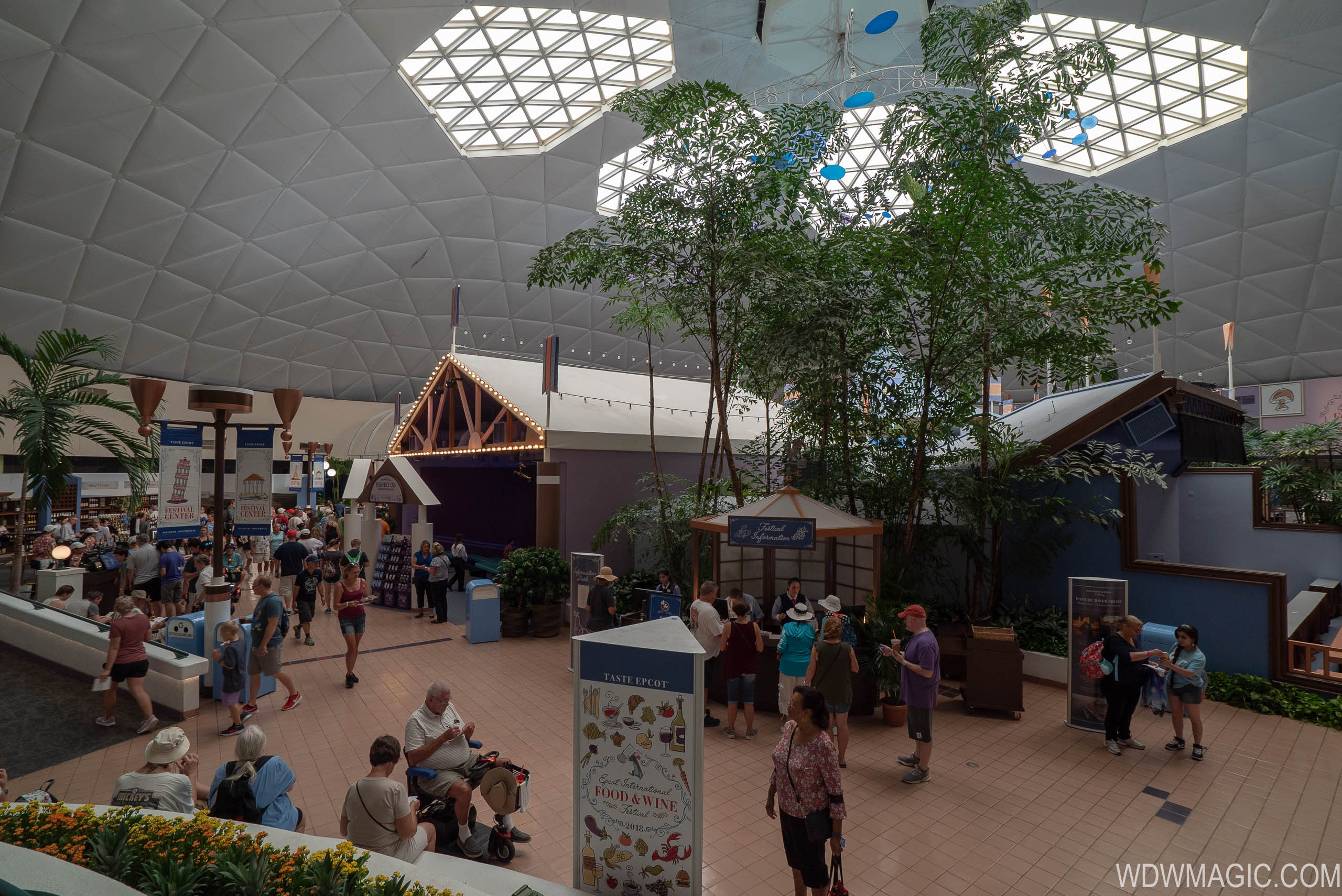 Wonders of Life has most recently been used as event space for Epcot's Festivals