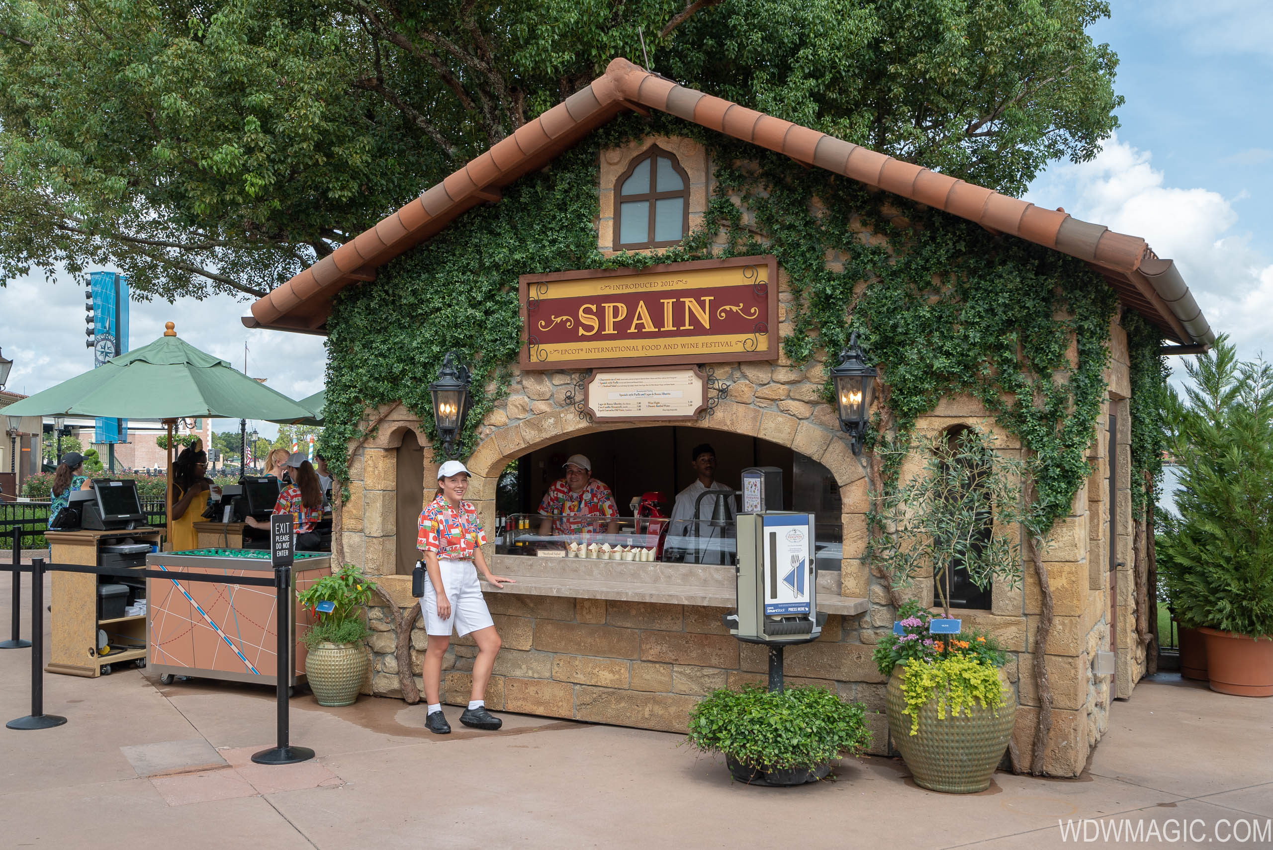 Spain at the Epcot Food and Wine Festival