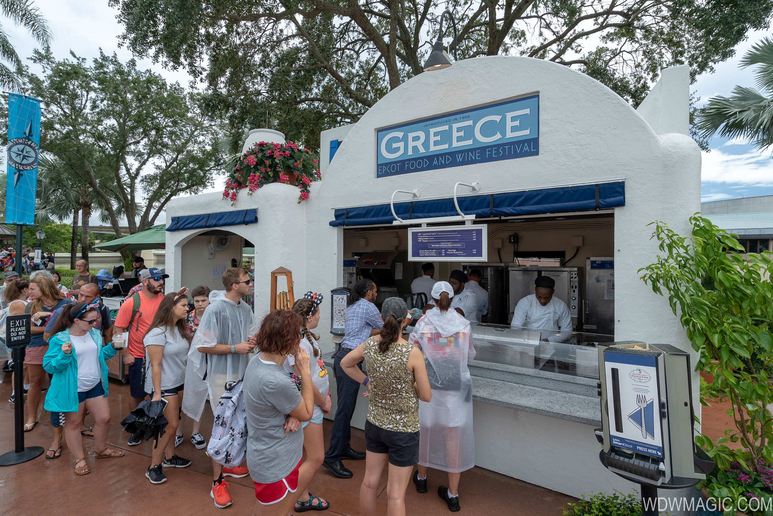 2018 Epcot Food and Wine Festival Marketplace kiosks, menus and pricing