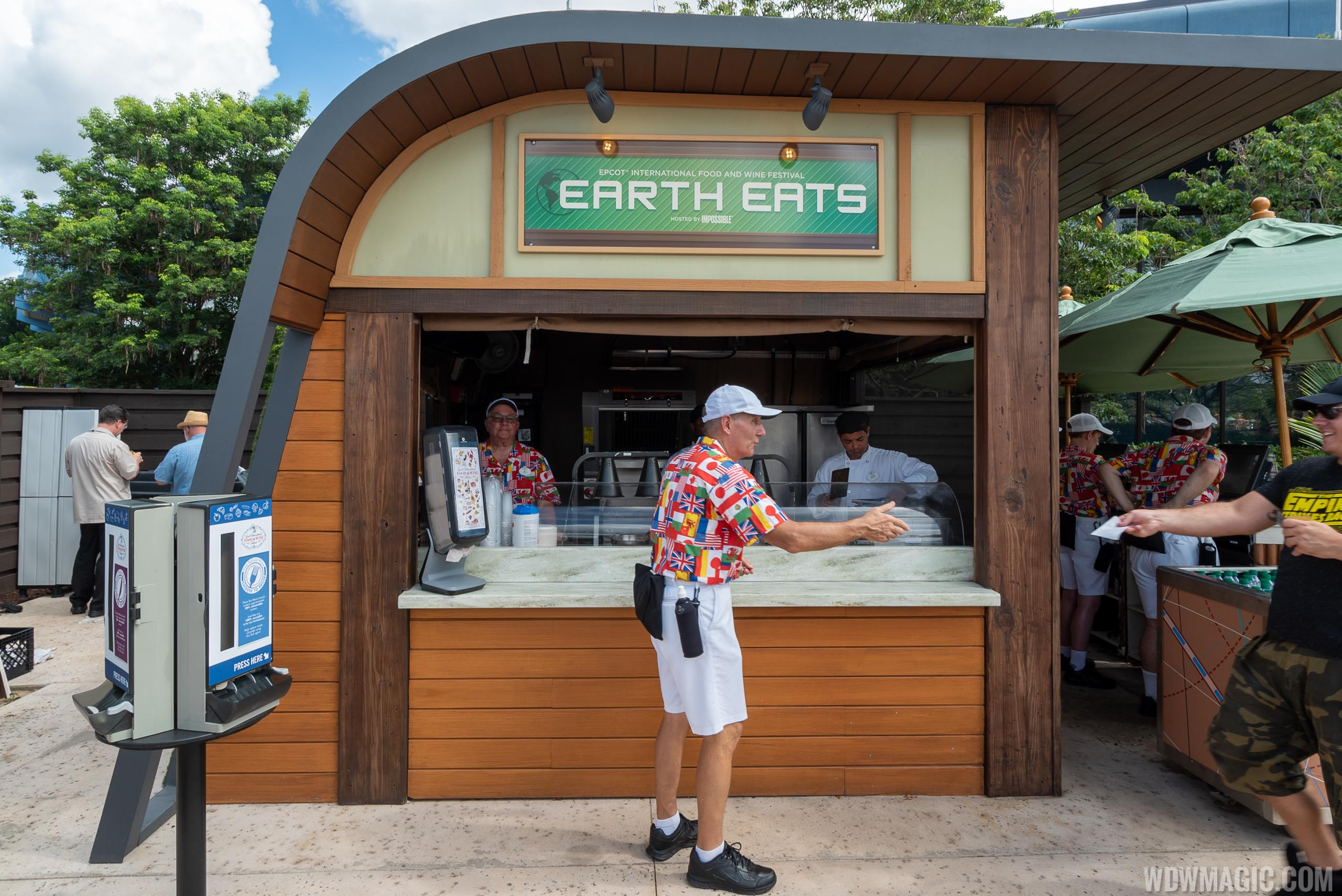 2019 Epcot Food and Wine Festival Marketplace kiosks, menus and pricing