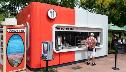 PHOTOS - The Donut Box and Cool Wash kiosks open at Epcot