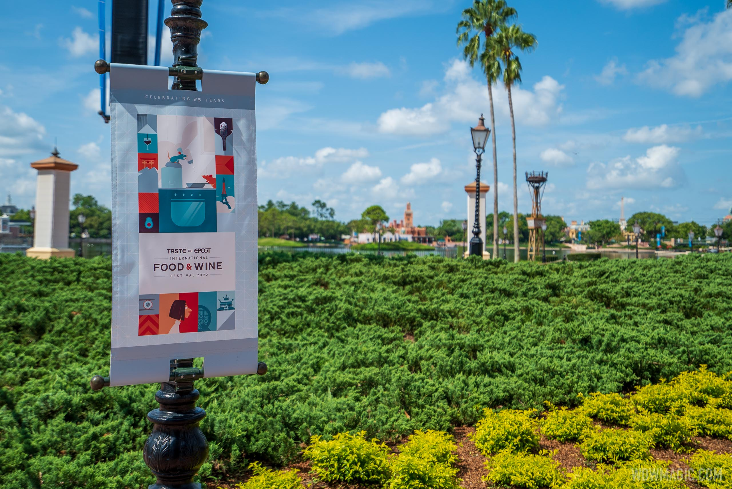 Taste of EPCOT Food and Wine Festival - Banner