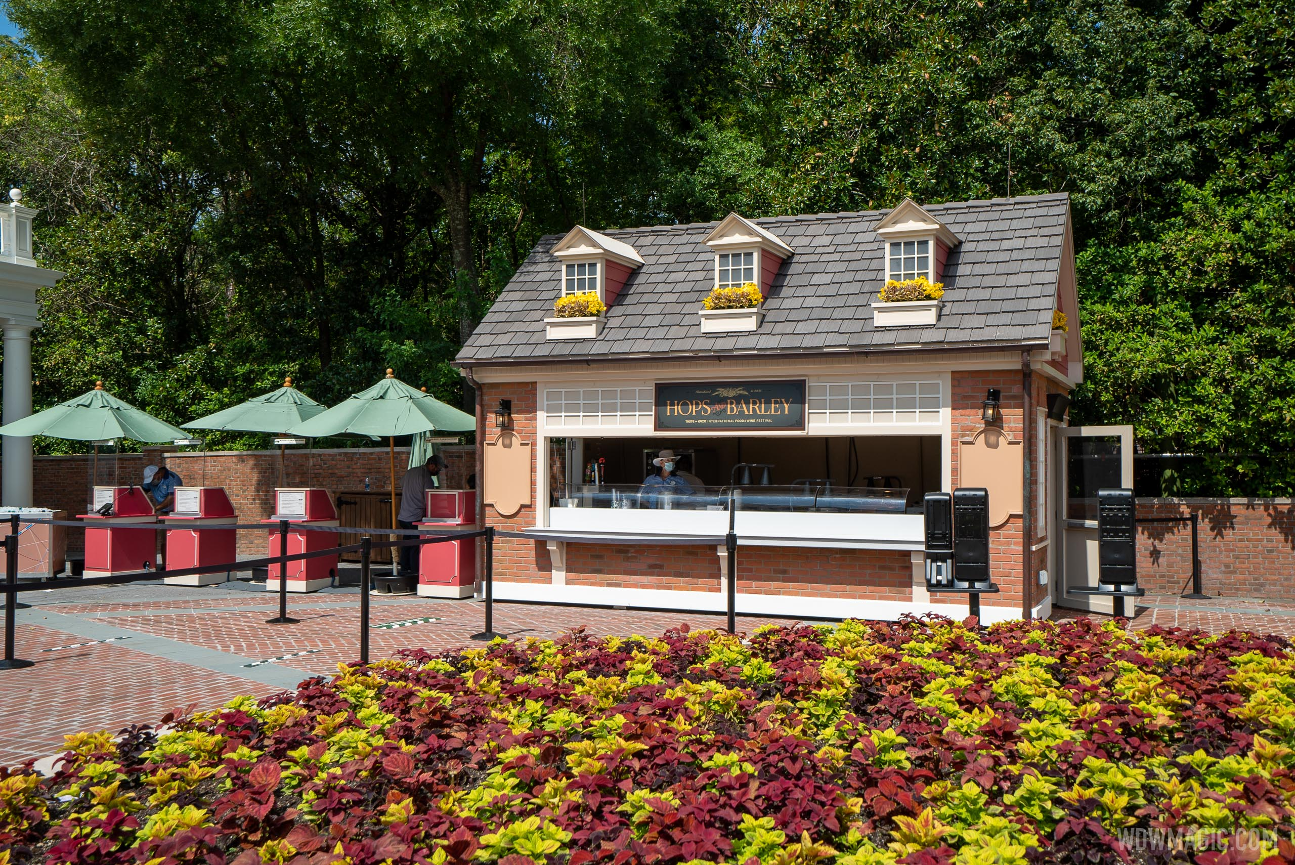 Taste of EPCOT Food and Wine Festival - Hops and Barley kiosk