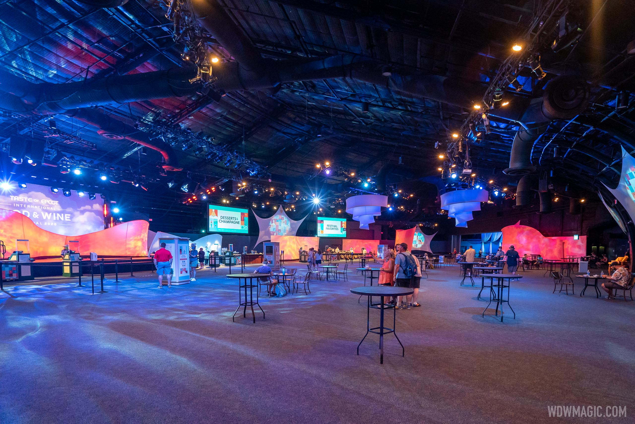 Taste of EPCOT Food and Wine Festival - Inside World Showplace