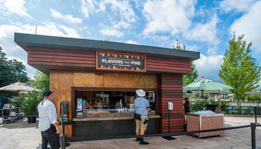 PHOTOS - 'Flavors from Fire' opens as part of the 2020 Taste of EPCOT International Food and Wine Festival