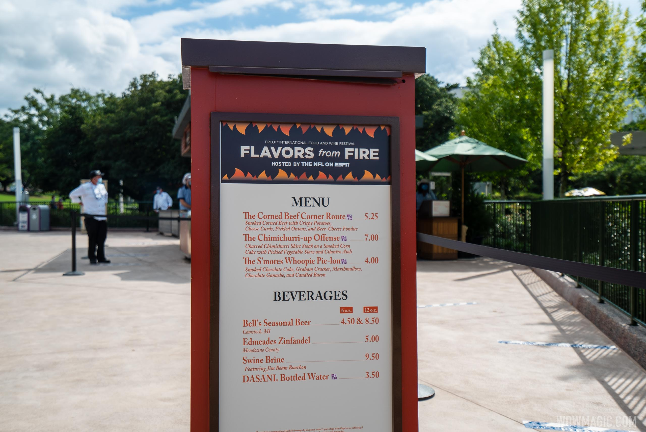Flavors from Fire at 2020 Taste of EPCOT International Food and Wine Festival