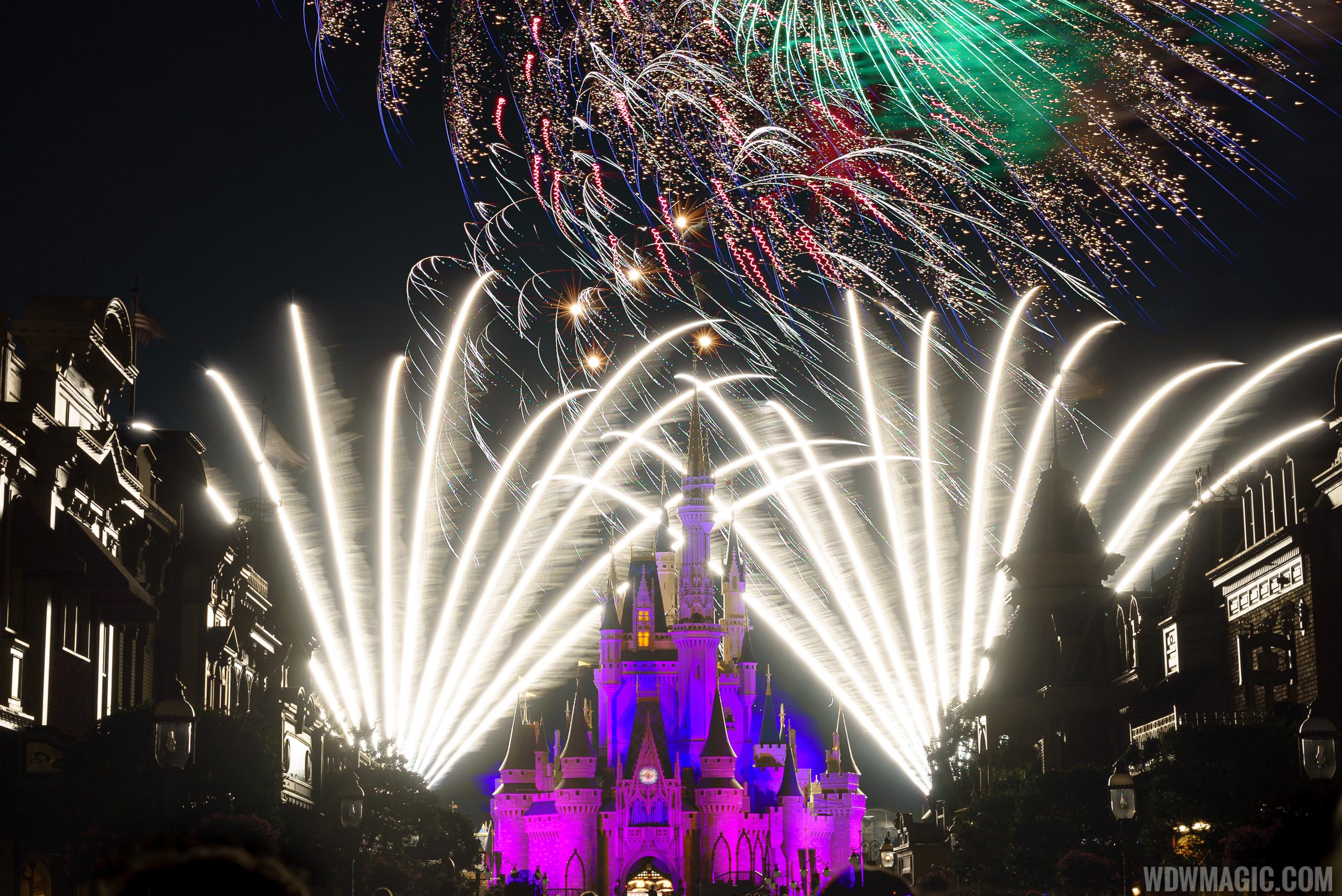 Fourth of July Fireworks at Walt Disney World
