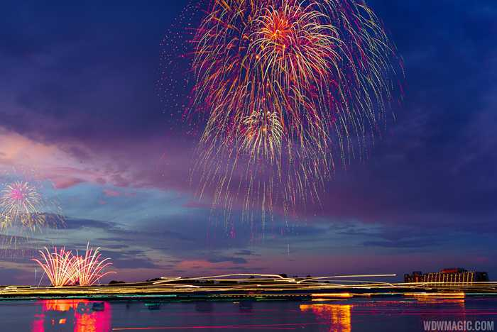 Fourth of July at Walt Disney World