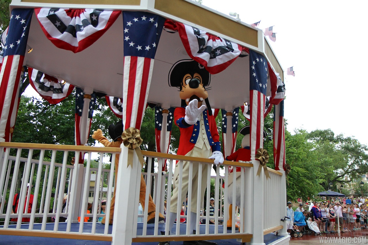 Limited Time Magic - July 4 pre-parade