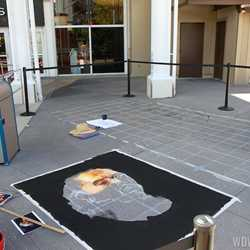 Limited Time Magic - Disney Chalk Art Festival at Downtown Disney