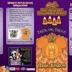 Mickey's Not-So-Scary Halloween Party guide