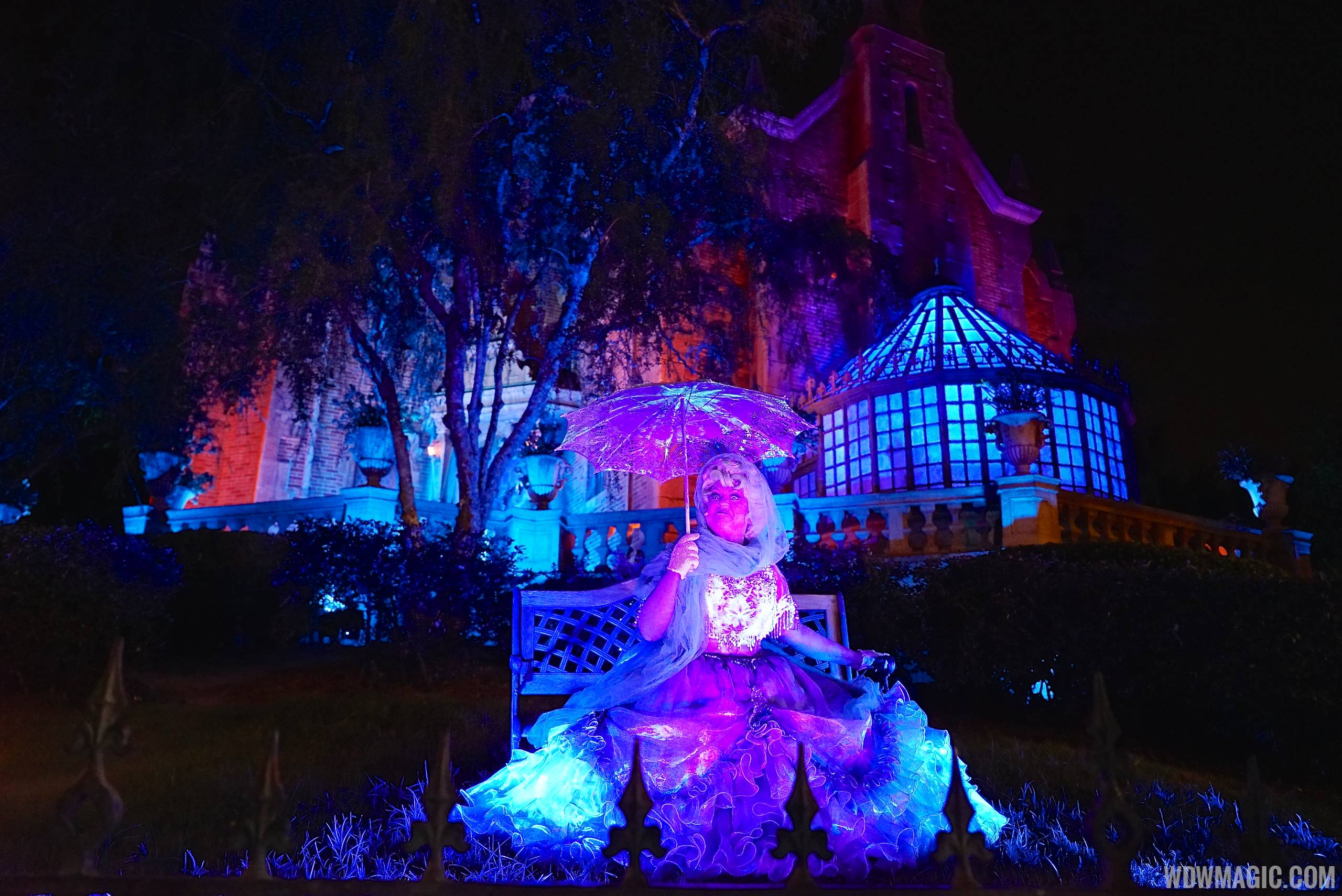 Haunted Mansion - Carlotta and Rinotta