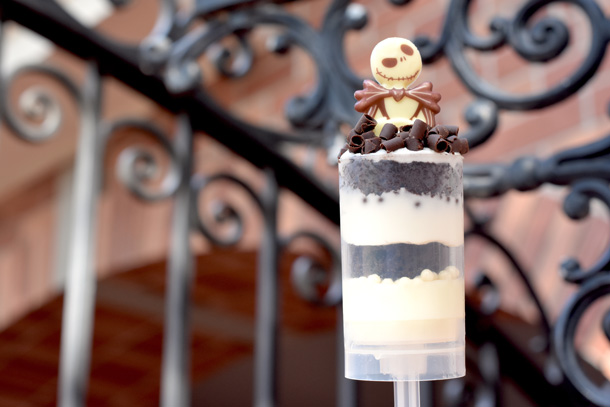 Jack Skellington dessert at Sleepy Hollow in Liberty Square