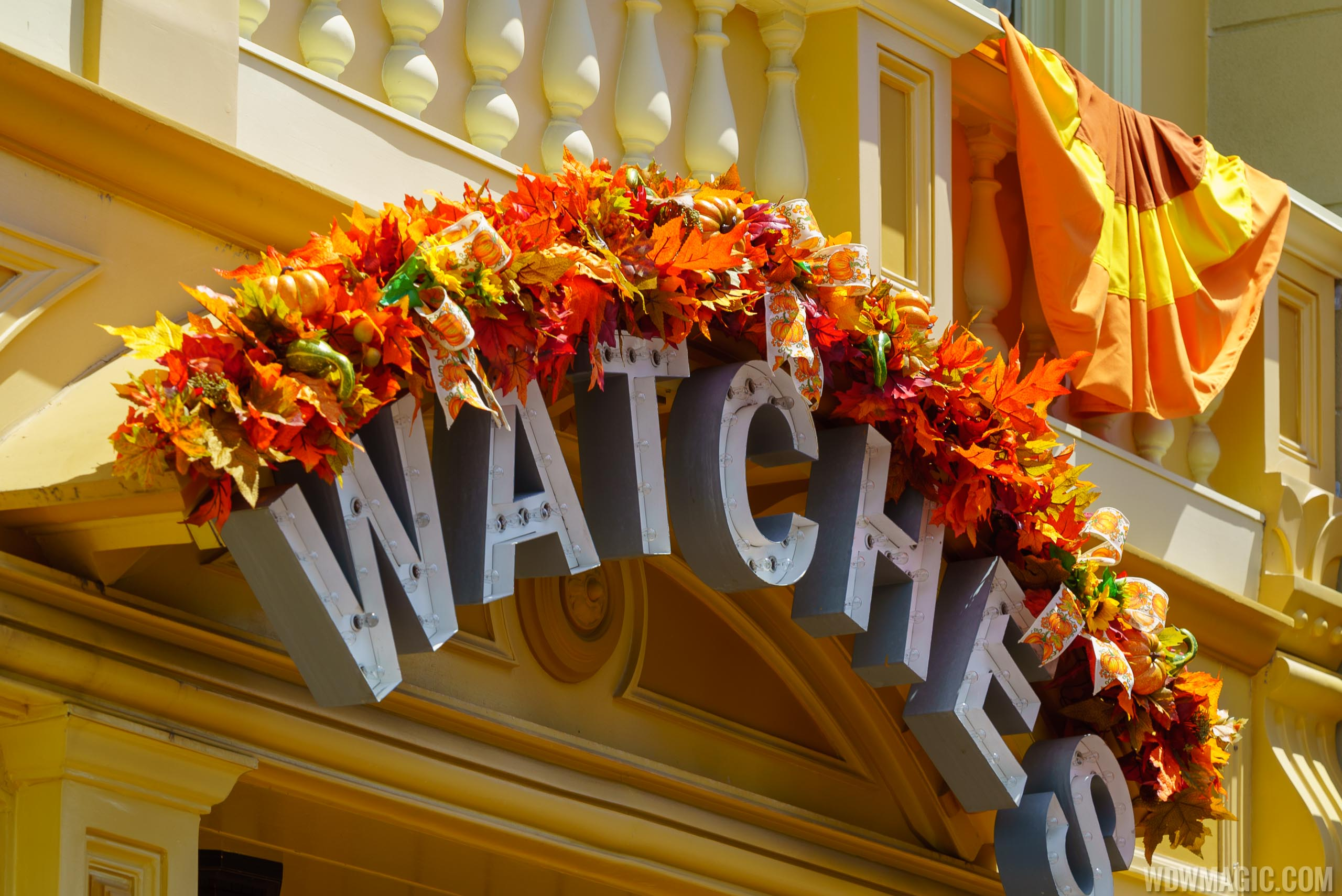 Magic Kingdom's fall Halloween decorations 2018