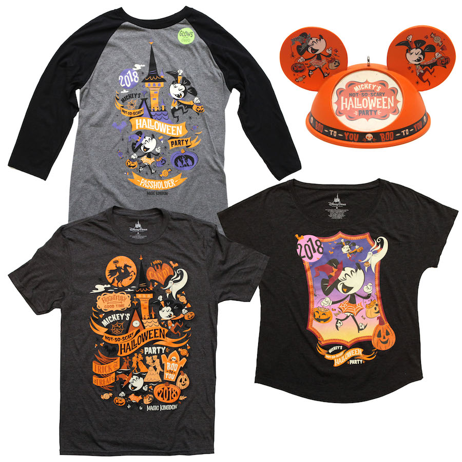 Disney Cruise Line Halloween Merchandise.Mickey S Not So Scary Halloween Party Merchandise 2018 Photo 3 Of 5