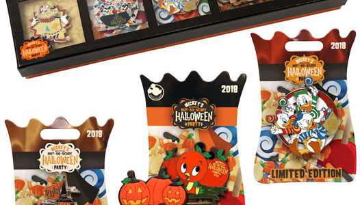 PHOTOS - First look at the 2018 Mickey's Not-So-Scary Halloween Party merchandise