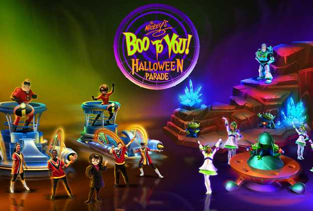 2019 Mickey's Boo To You Halloween parade concept art