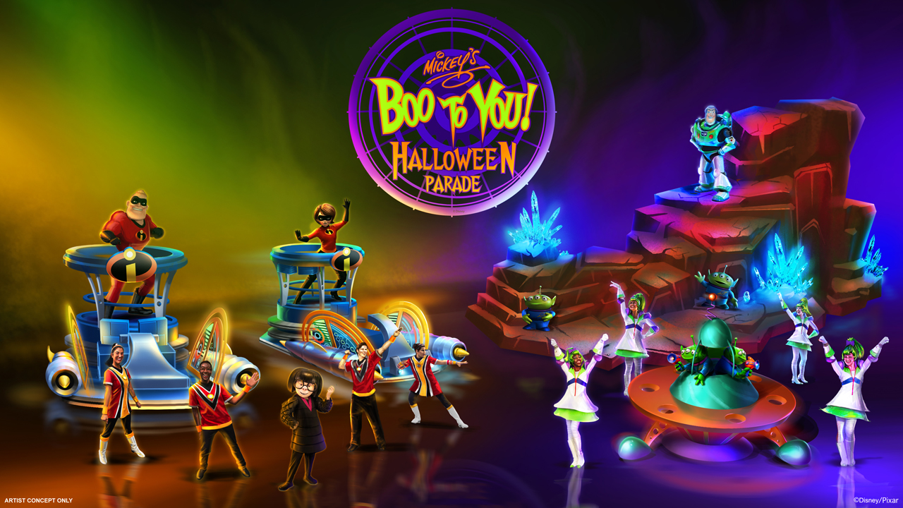 2019 Mickey's Boo To You Halloween parade concept art