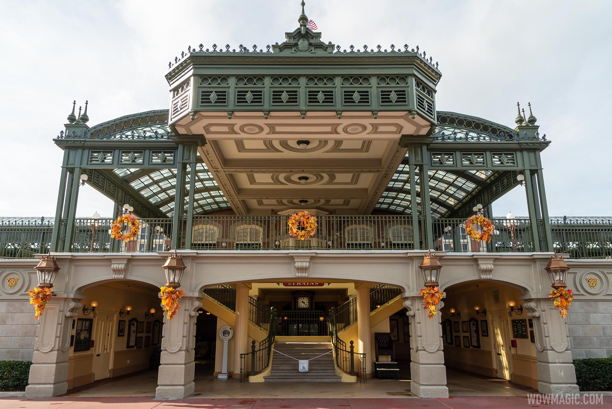 Magic Kingdom fall decor arrives