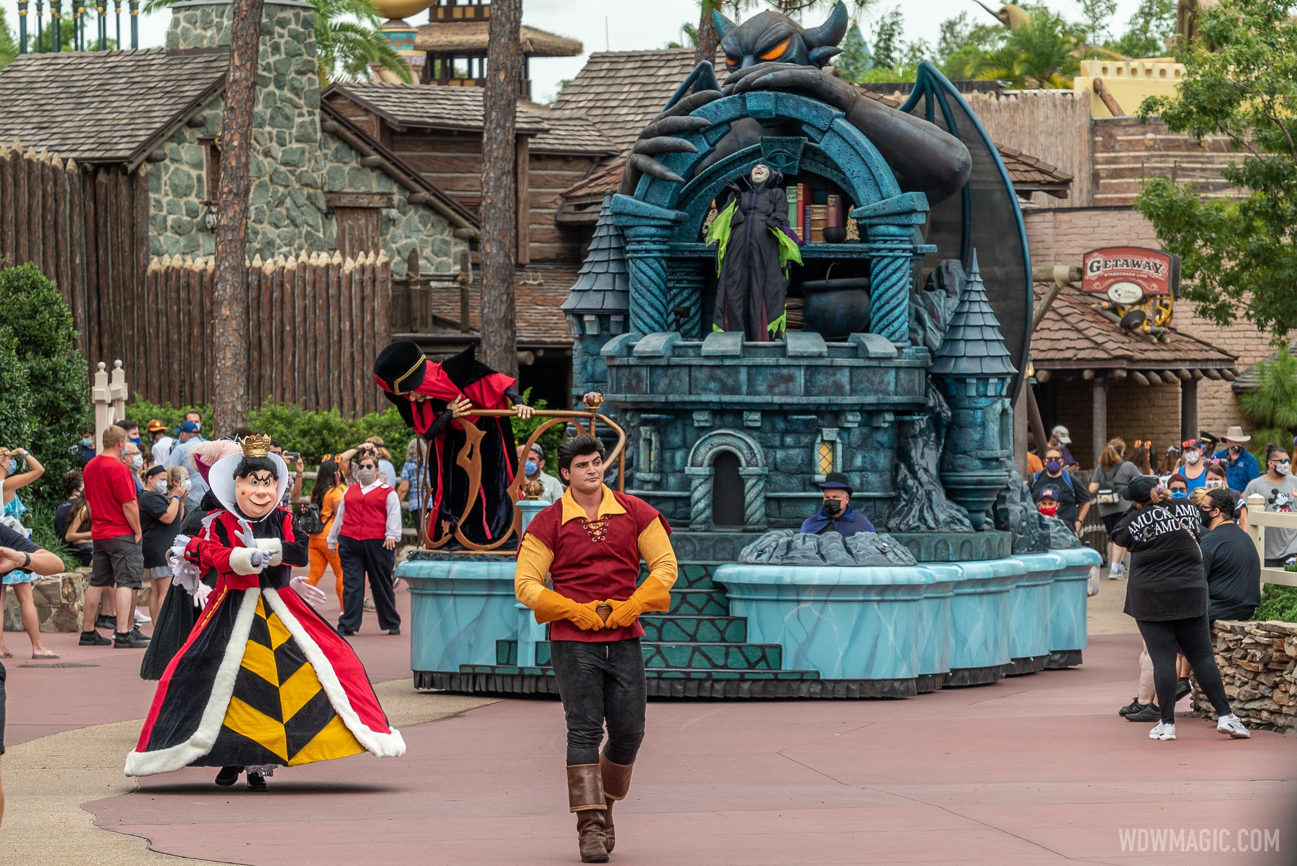 Disney Villains cavalcade