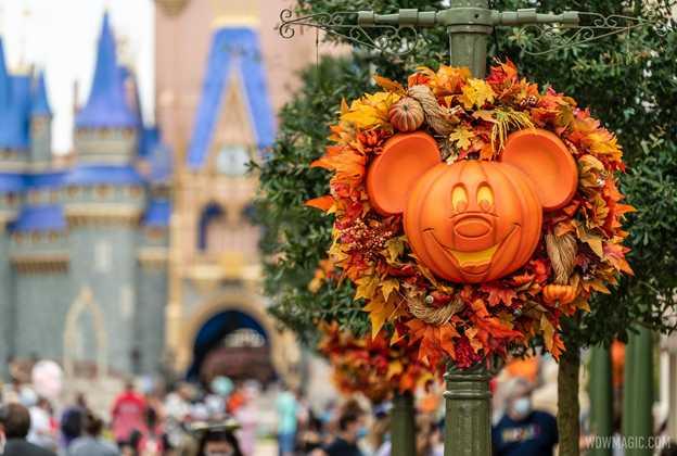 Magic Kingdom Halloween season opening day 2020