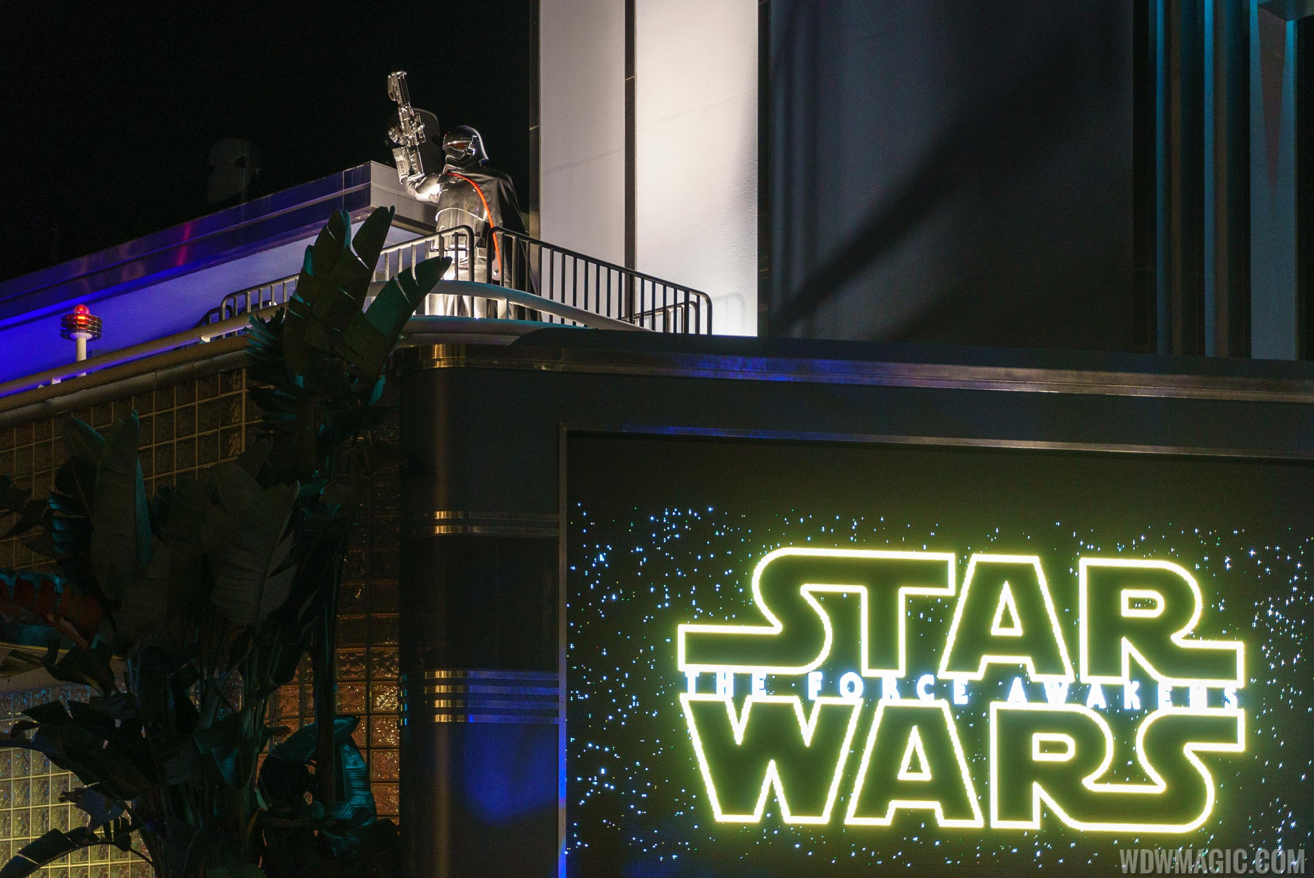The Force Awakens Star Wars Party at Disney's Hollywood Studios in 2015