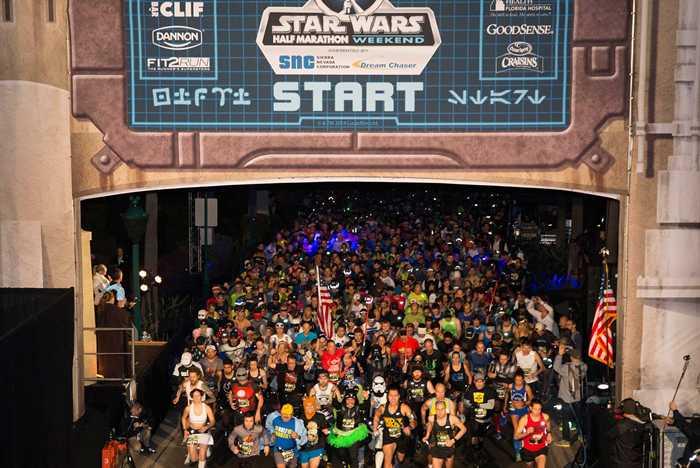 'Star Wars Half Marathon – the Dark Side' overview