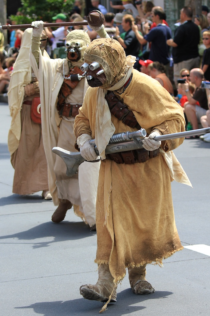 2010 Star Wars Weekends - Celebrity Motorcade - Week 1