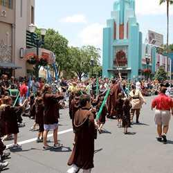 2011 Star Wars Weekends - Legends of the Force motorcade