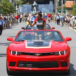 2014 Star Wars Weekends - Weekend 2 Legends of the Force motorcade celebrities