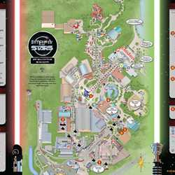 2014 Star Wars Weekends May 30 - June 1 Weekend 3 guide map