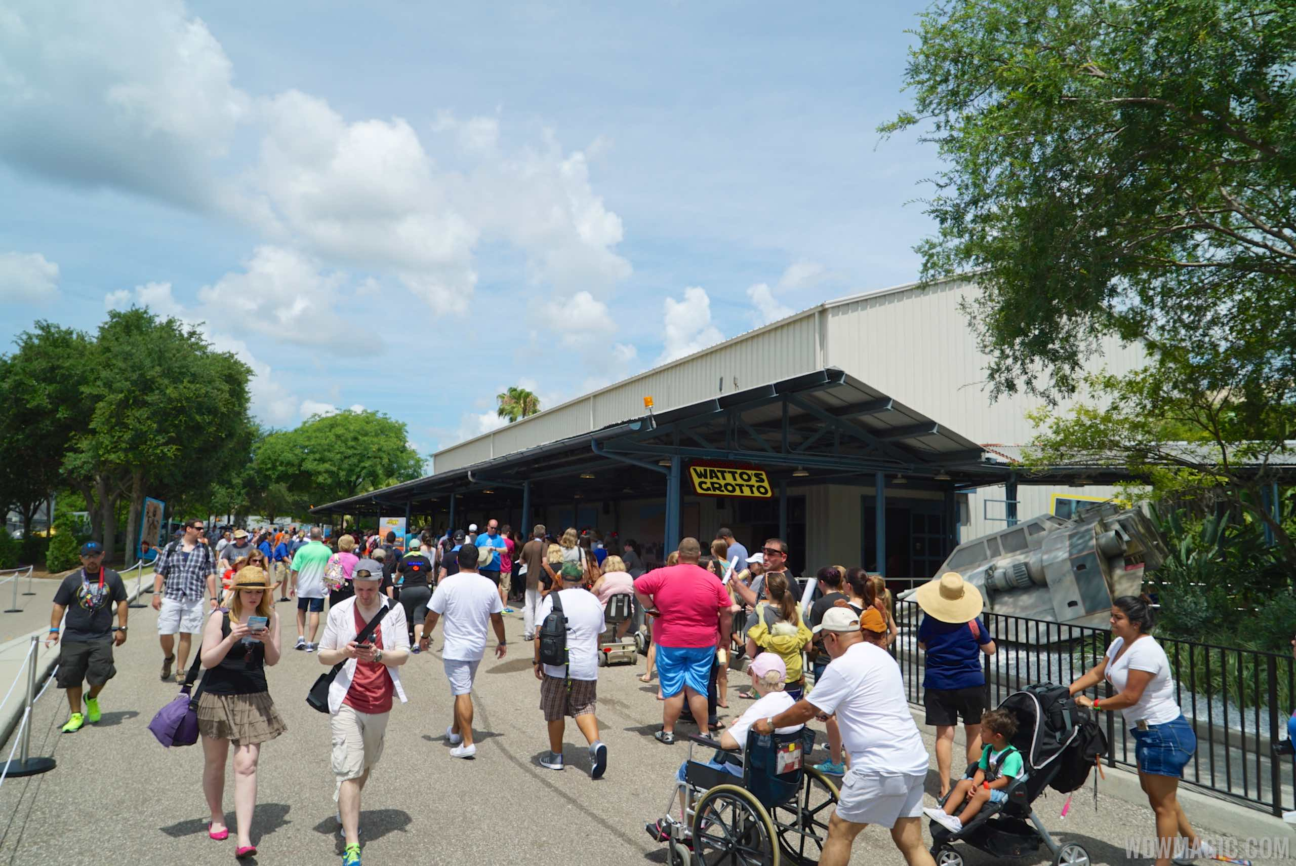2015 Star Wars Weekends Darth's Mall - Watto's Grotto