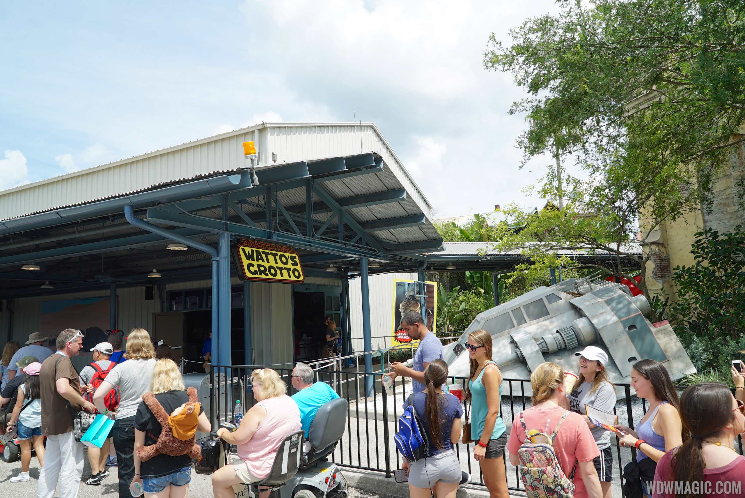 2015 Star Wars Weekends Darth's Mall - Watto's Grotto