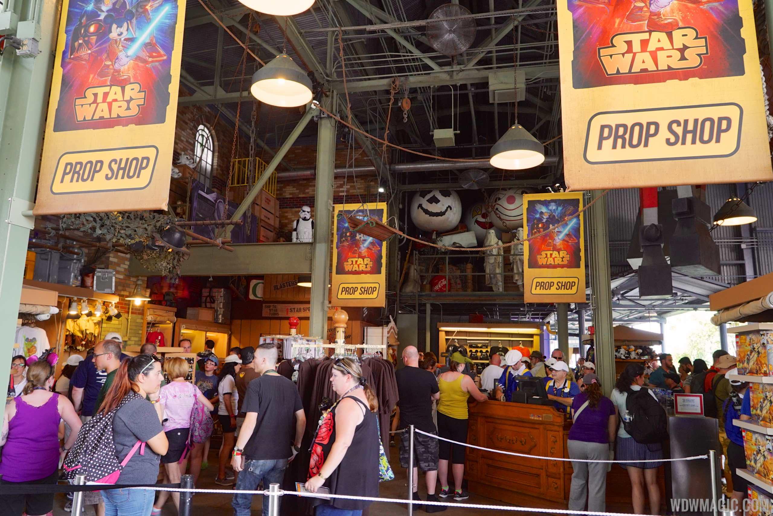 2015 Star Wars Weekends Darth's Mall - Prop Shop