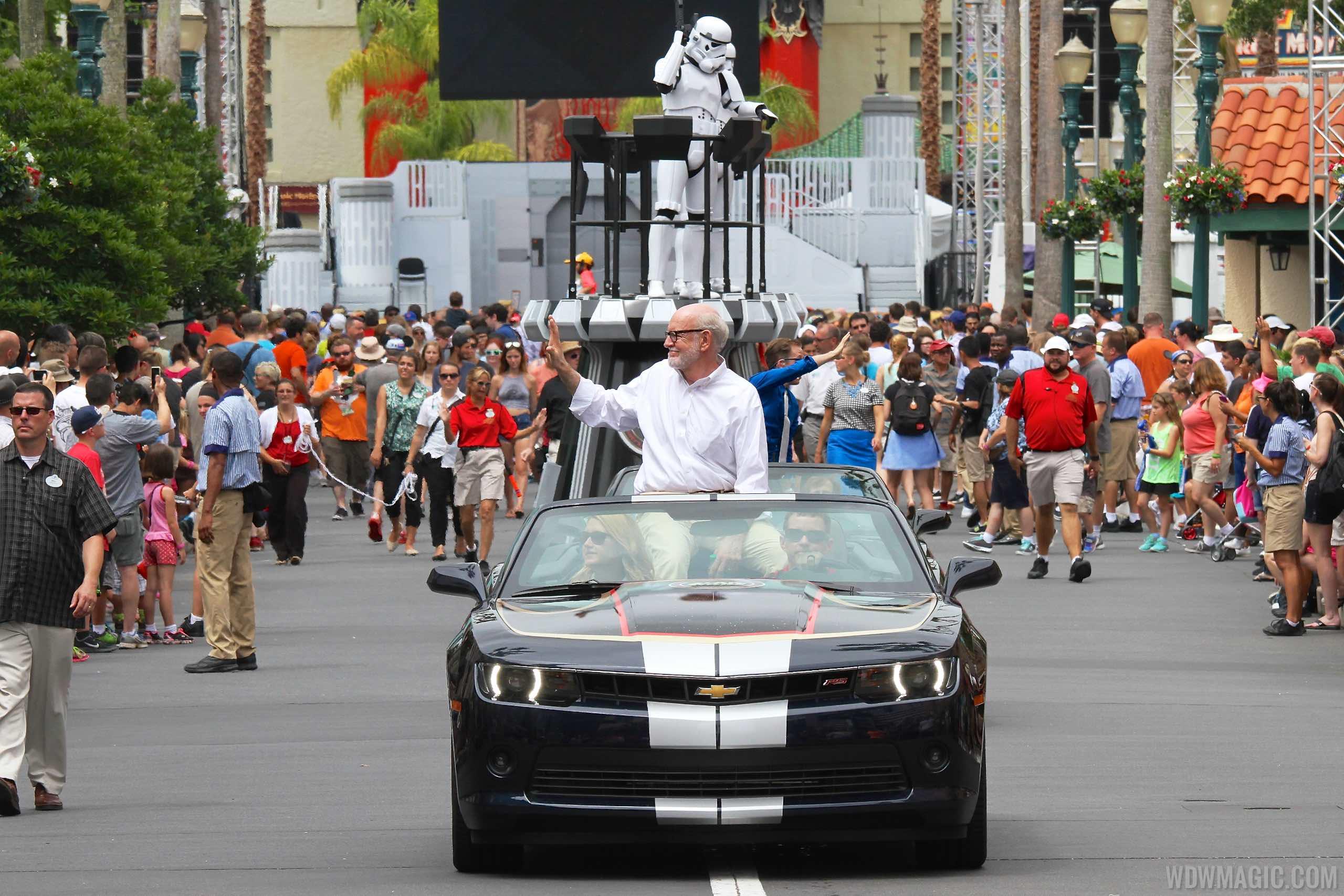 Weekend 5 Legends of the Force motorcade celebrities - Frank Oz