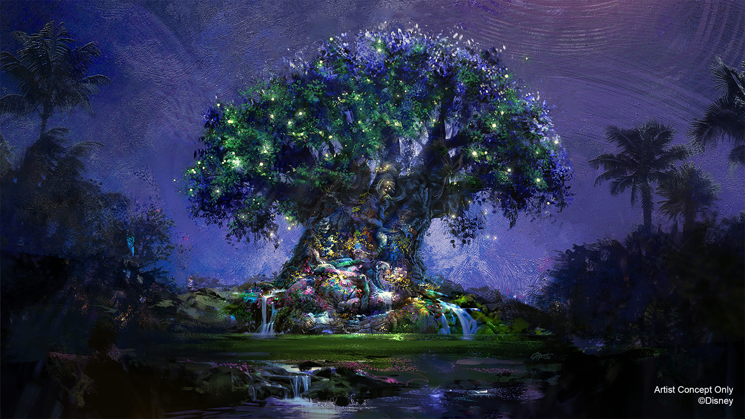 Tree of Life becomes a Beacon of Magic in Disney's Animal Kingdom