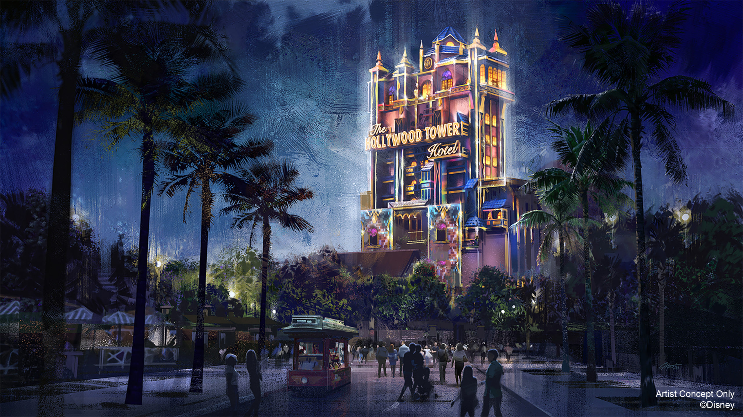 Hollywood Tower Hotel becomes a Beacon of Magic in Disney's Hollywood Studios