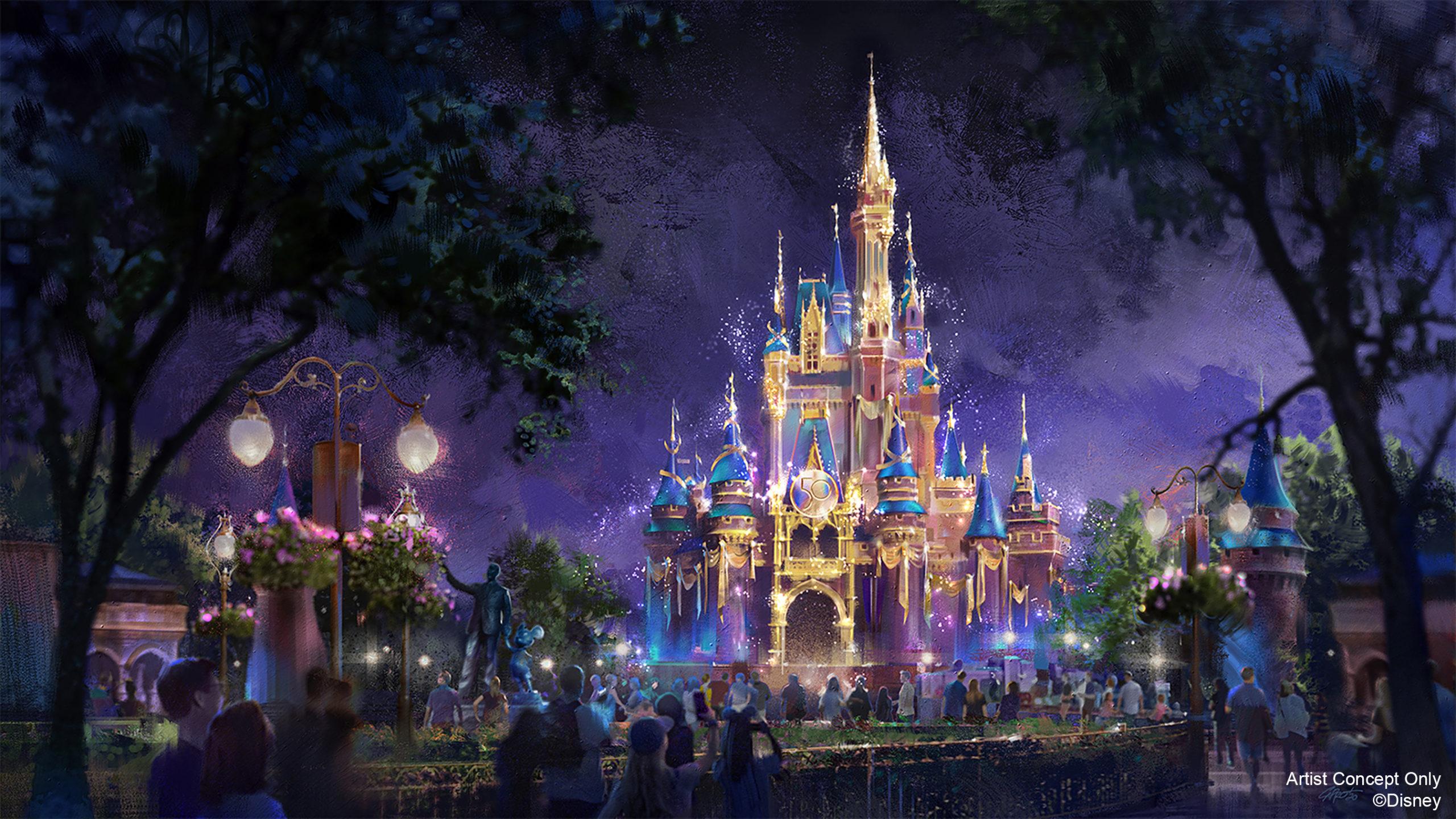 Cinderella Castle becomes a Beacon of Magic