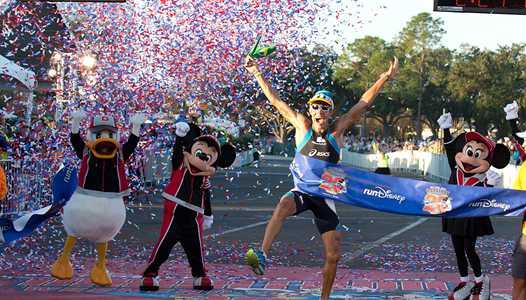 PHOTOS  -  Walt Disney World Marathon legend Adriano Bastos wins 8th title