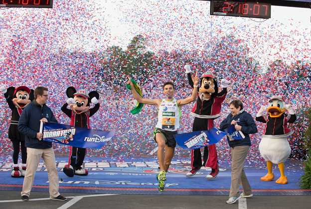 2015 Walt Disney World Marathon winners