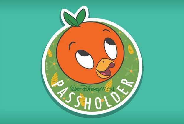 Passholder Orange Bird magnet Summer 2021
