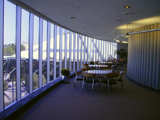 GM Test Track corporate lounge