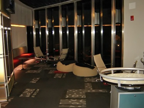 HP Mission Space corporate lounge
