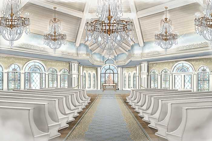 New Wedding Pavilion interior concept art