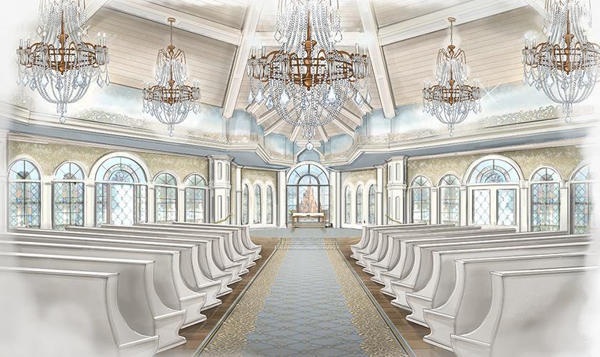 New Wedding Pavilion interior concept art