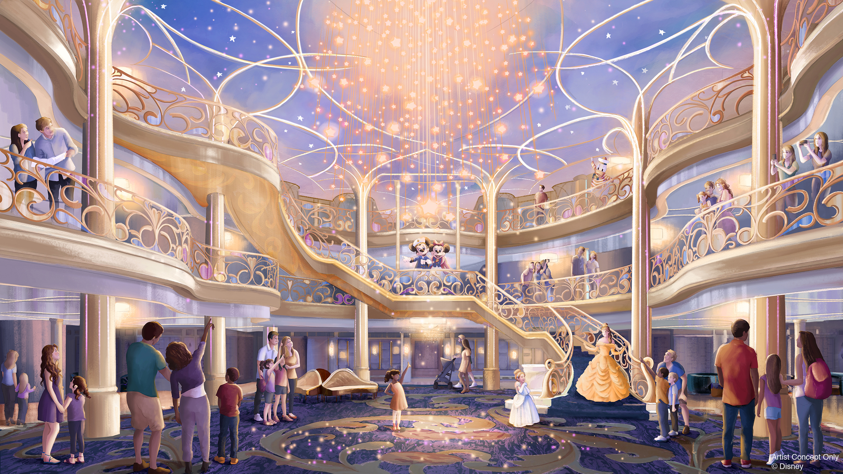 The Disney Wish will set sail in 2022