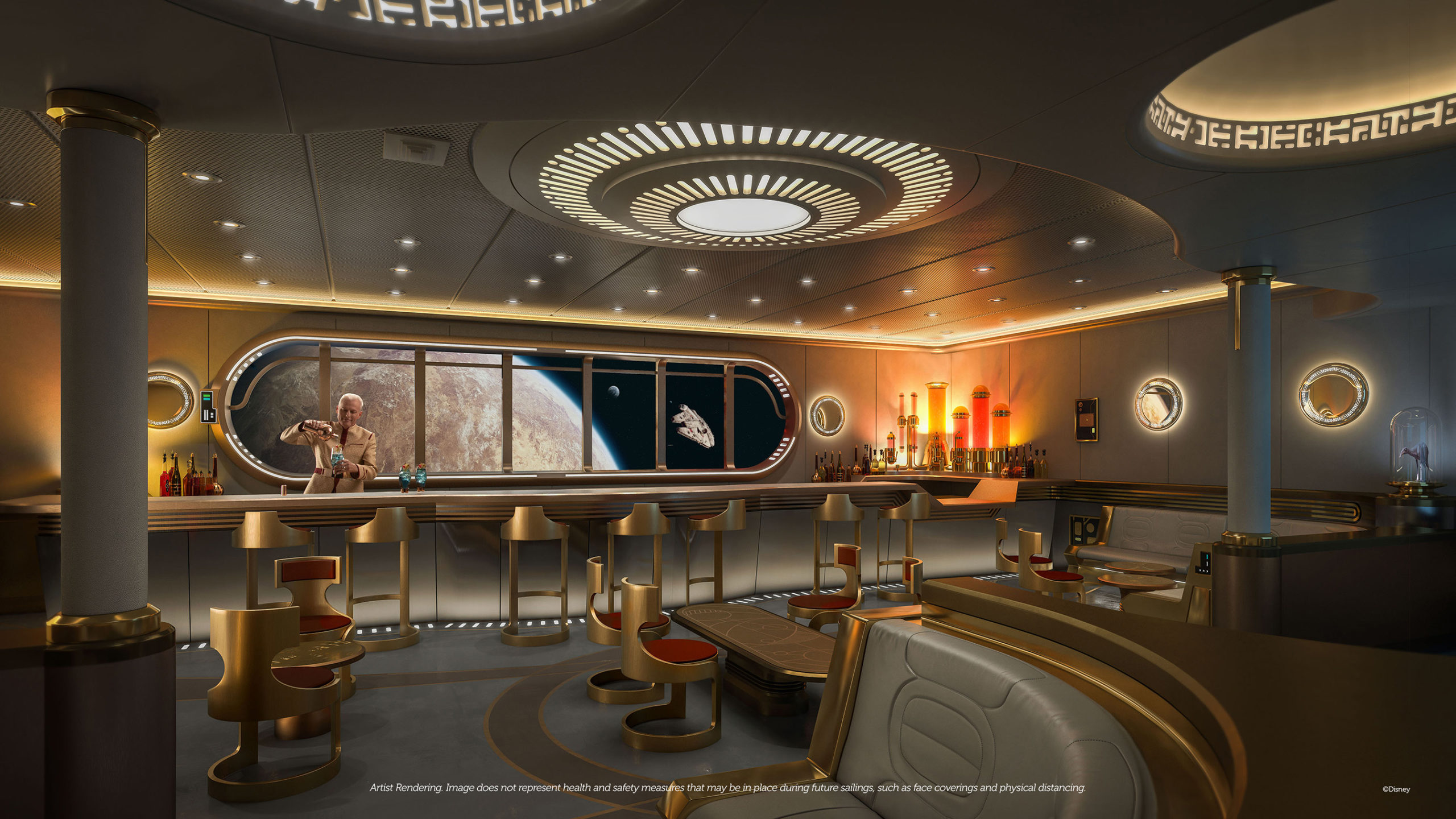 Star Wars Hyperspace Lounge