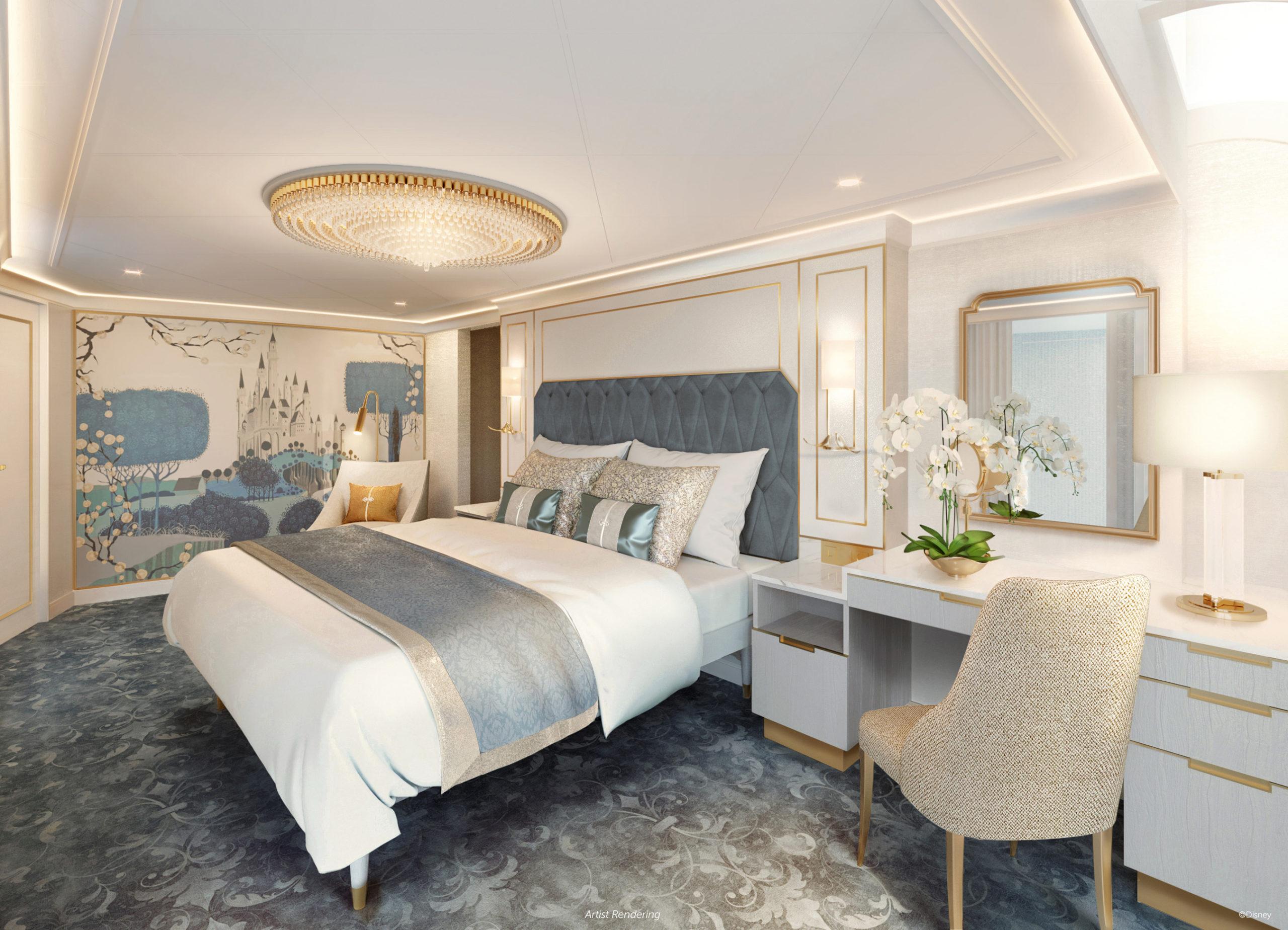 Disney Wish – Staterooms – Princess Aurora Royal Suite 1